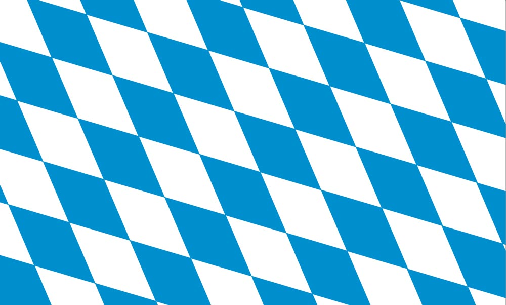 Rautenmuster Freistaat Bayern