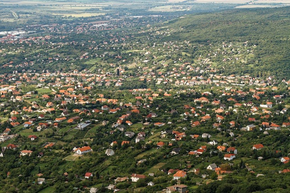 Luftbild Vororte einer Stadt