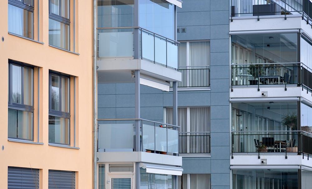 Wohnungsbauten. Foto: Kurt Michel / pixelio.de