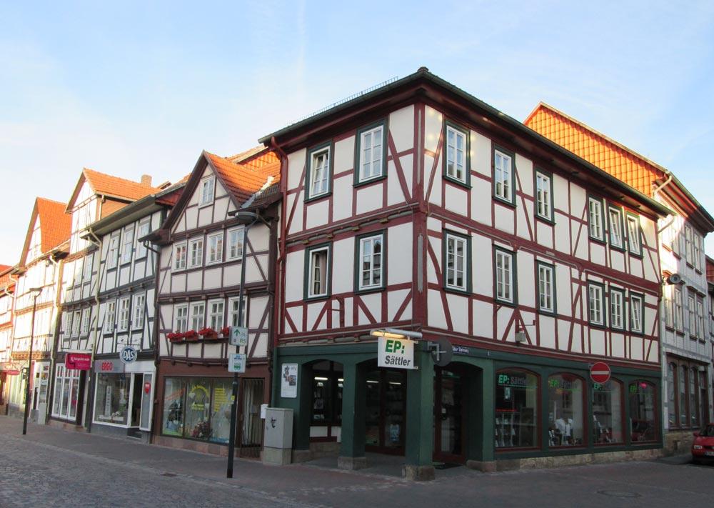 Fachwerk Bürgerhaus in Eschwege