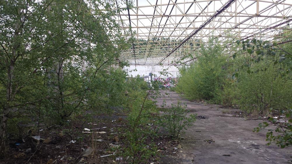 Industriebrache in Taucha