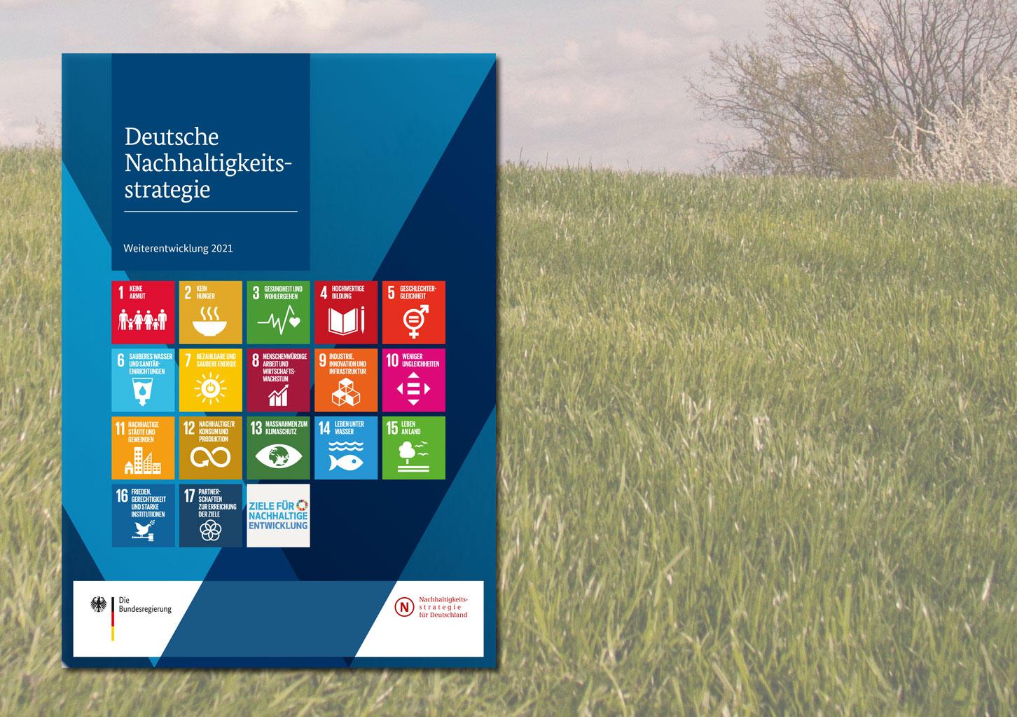 Deckblatt Deutsche Nachhaltigkeitsstrategie
