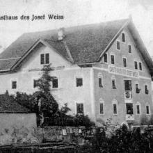Gasthof Weiss im Jahr 1908