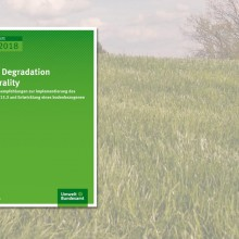 Cover: Land Degradation Neutrality