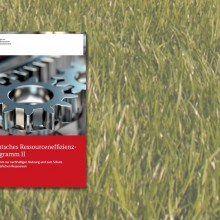 Deckblatt des Ressourceneffizienzprogramms II