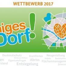 """Flyer zum Wettbewerb """"Kernige Dörfer"""" gesucht"""