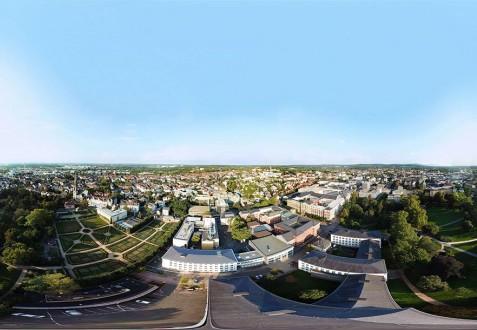 Luftbild Darmstadt