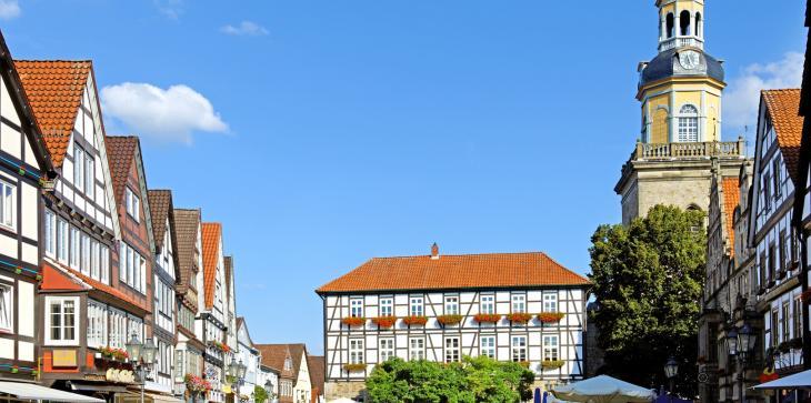 Marktplatz in Rinteln an der Weser