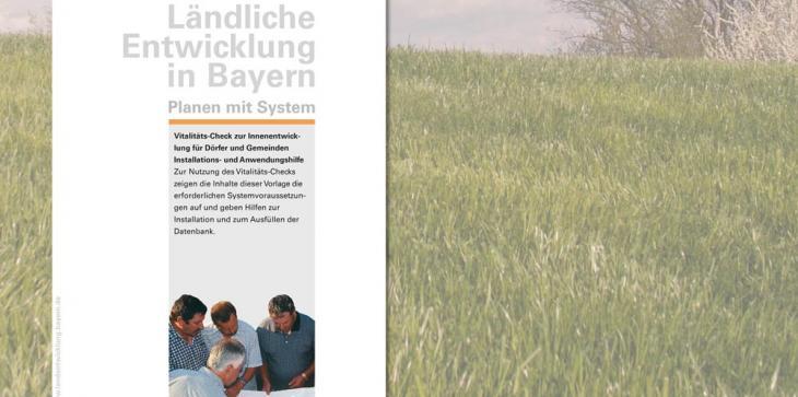 Titelblatt der Arbeitshilfe zum Vitalitätscheck für Kommunen