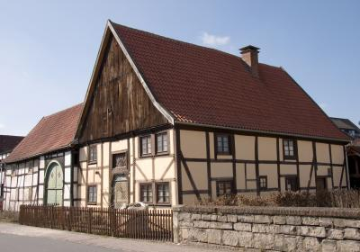 Fachwerkhaus im Ortskern